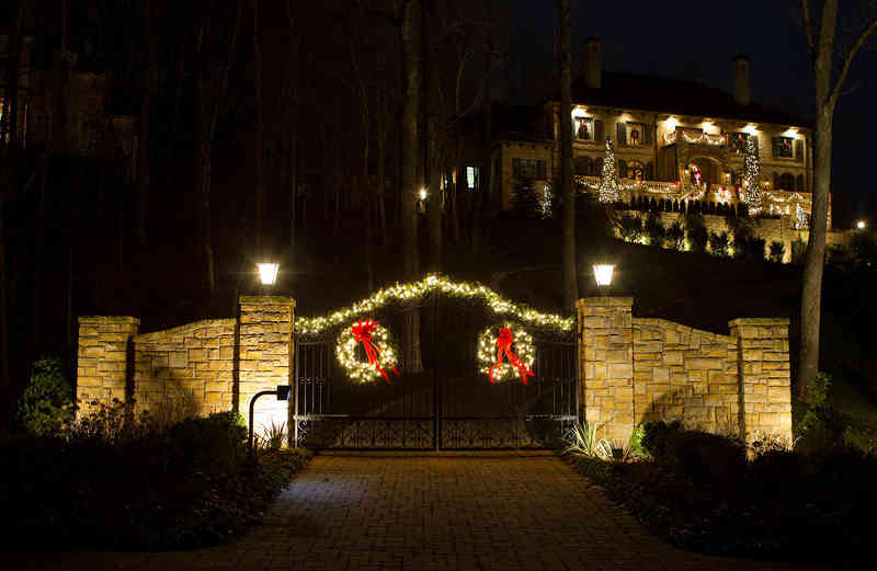Home Christmas Light Installations By Clp Nashville Brentwood