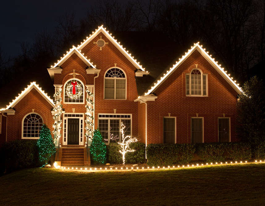 Home Christmas Light Installations by CLP - Nashville, Brentwood ...